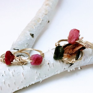 Genuine Ruby Gemstone Ring, Genuine Sapphire Gemstone Ring, Gemstone Rings