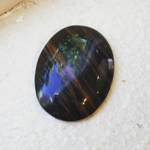 Finished Obsidian Mahogany
